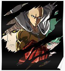 Hero Inspired Anime Shirt Poster