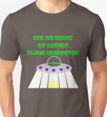 UFO alien encounter Unisex T-Shirt