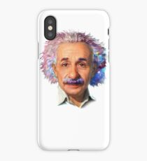 Albert Einstein - Galaxy iPhone Case/Skin