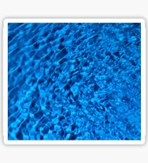 Blue Water - Background of Color Beauty Sticker
