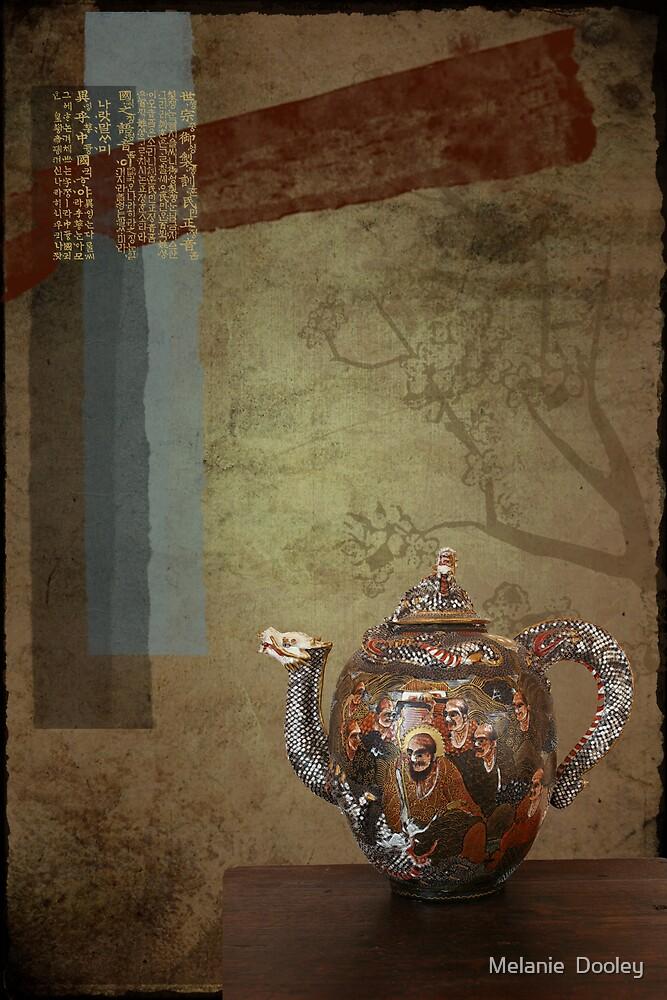 Warrior Teapot by Melanie  Dooley