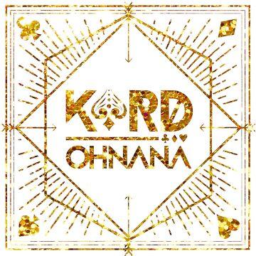 KARD - Oh Nana - Logo Glitter by bballcourt
