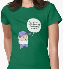 Weird noises Women's Fitted T-Shirt
