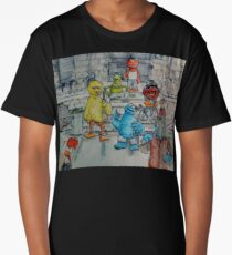 Ghetto Sesame Streets Long T-Shirt