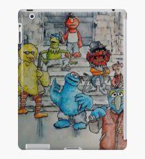 Ghetto Sesame Streets iPad Case/Skin