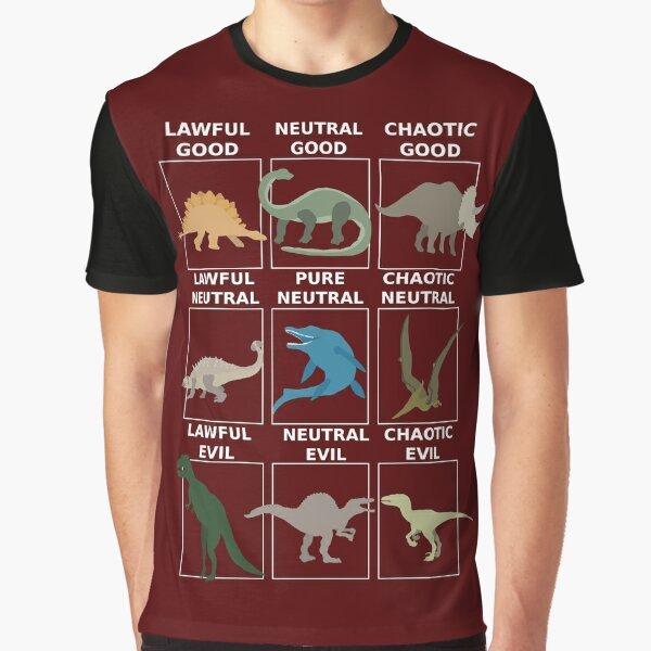 Dinosaurs alignment Graphic T-Shirt