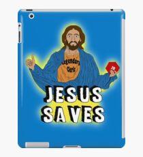 Jesus playing DnD iPad Case/Skin