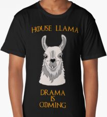 House Llama Long T-Shirt