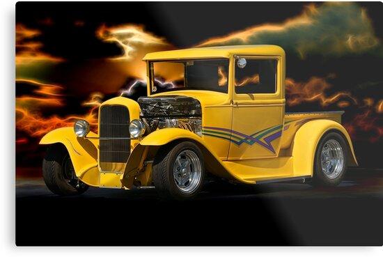 1930 Ford Pickup Truck by DaveKoontz