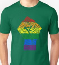 National March Of Pride Fist Unisex T-Shirt