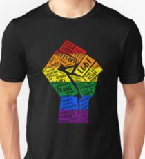 National March Of Pride Faust Slim Fit T-Shirt
