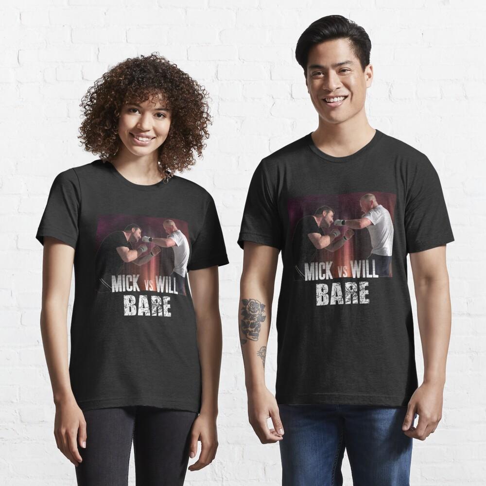Bare: Mick vs Will Essential T-Shirt