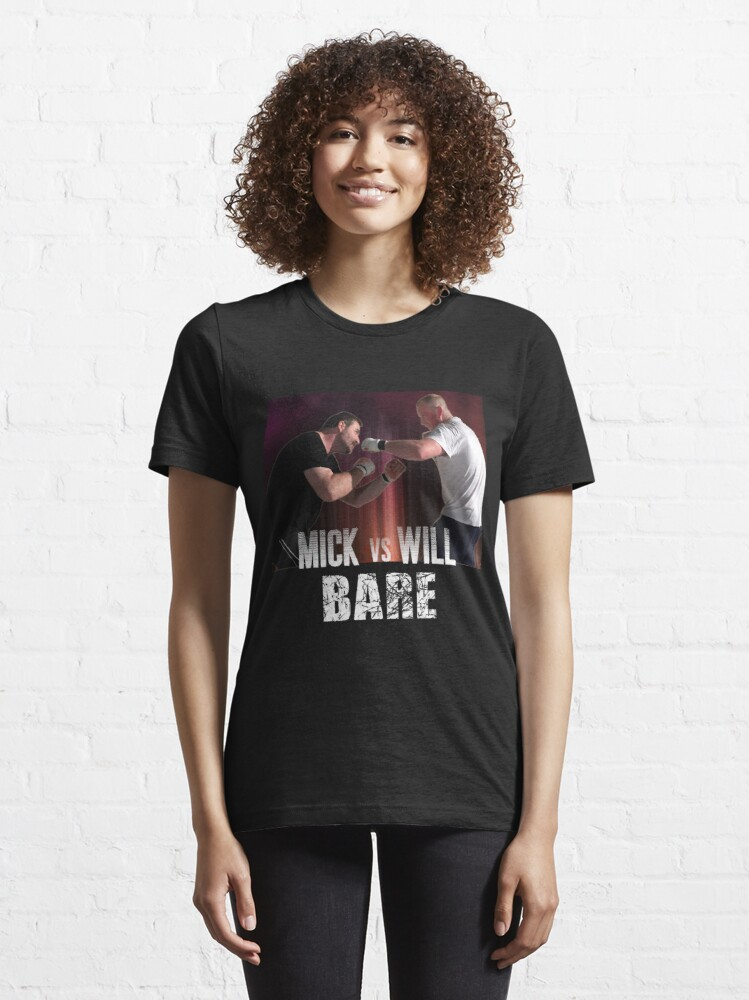 Alternate view of Bare: Mick vs Will Essential T-Shirt