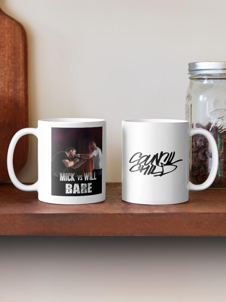 Alternate view of Bare: Mick vs Will Mug