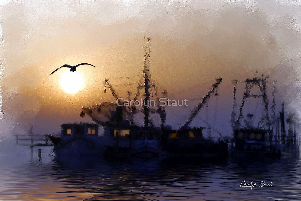 The End of the Day by Carolyn Staut