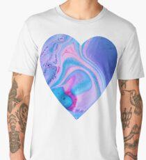 Swirly Heart Men's Premium T-Shirt