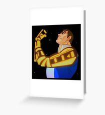 galaxy rangers Greeting Card