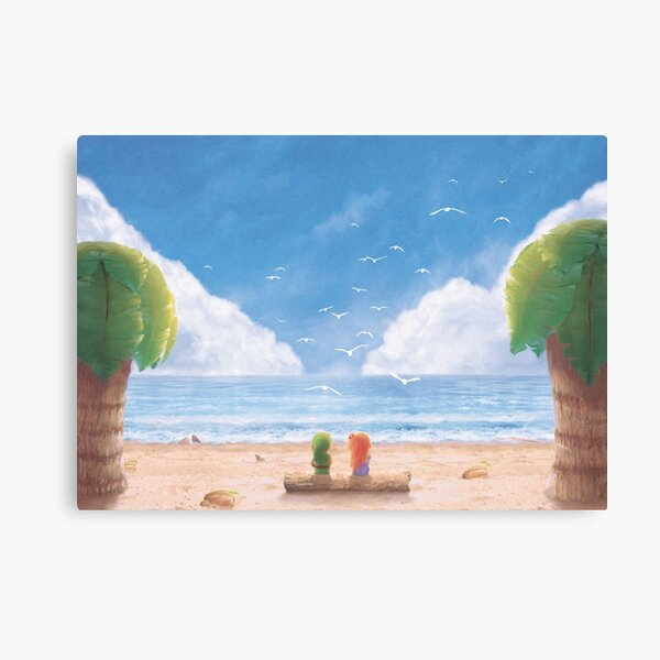 If i Was  a Seagull  Canvas Print