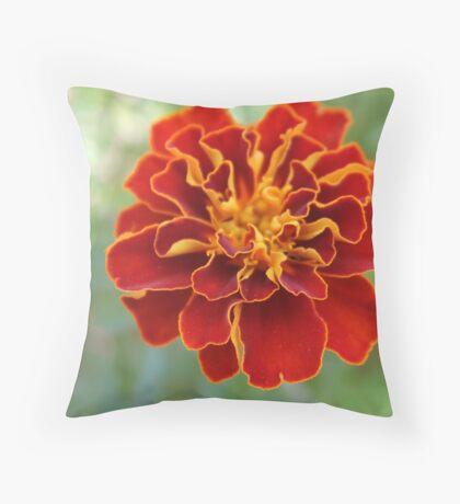 Oh! Marigold! Throw Pillow