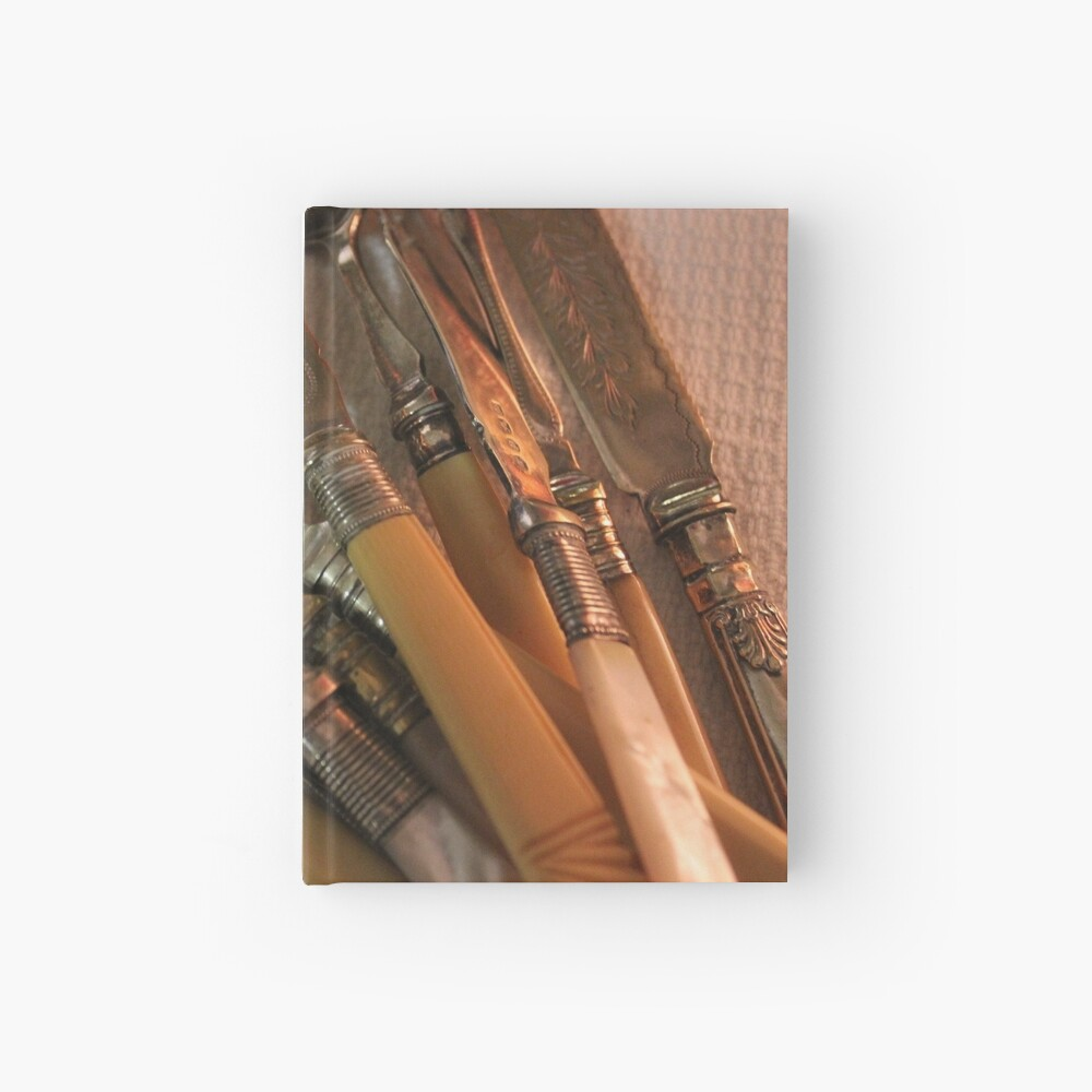 Vintages - The pleasure of collecting Hardcover Journal