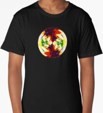 Pattern - Red Hawaii -Fruit Abstract Long T-Shirt