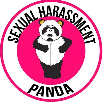 Sexual Harassment Panda by andraskiss