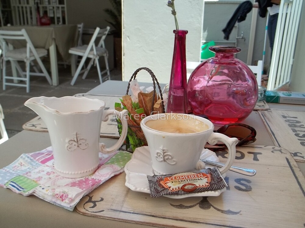 My daily fix at Bistrot de Paris and Une Belle-Vous by Maree Clarkson