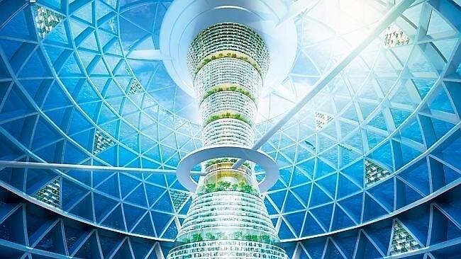 Japanese Firm Designs Futuristic Atlantis by jaspergroup