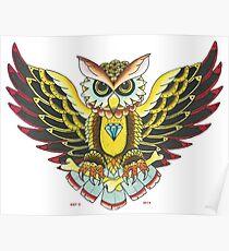DIAMOND OWL Poster