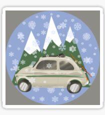 Alpine Fiat Sticker