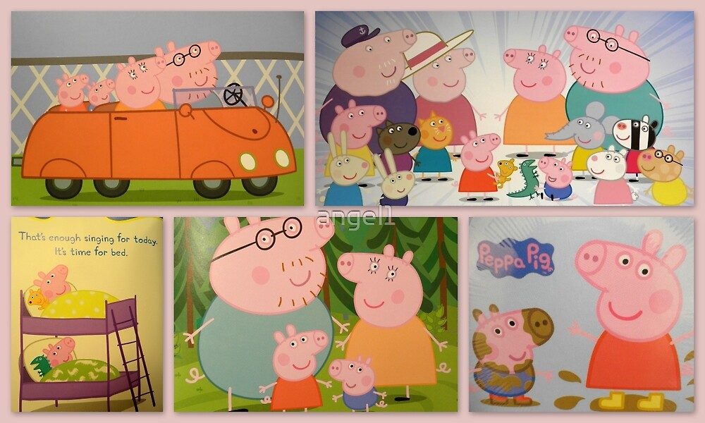 Peppa Pigs Tribute by ©The Creative  Minds