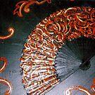 flamenco fan by rachelle
