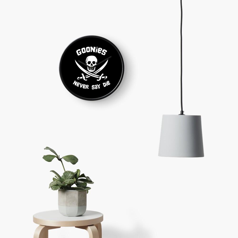 Goonies Never Say Die Clock
