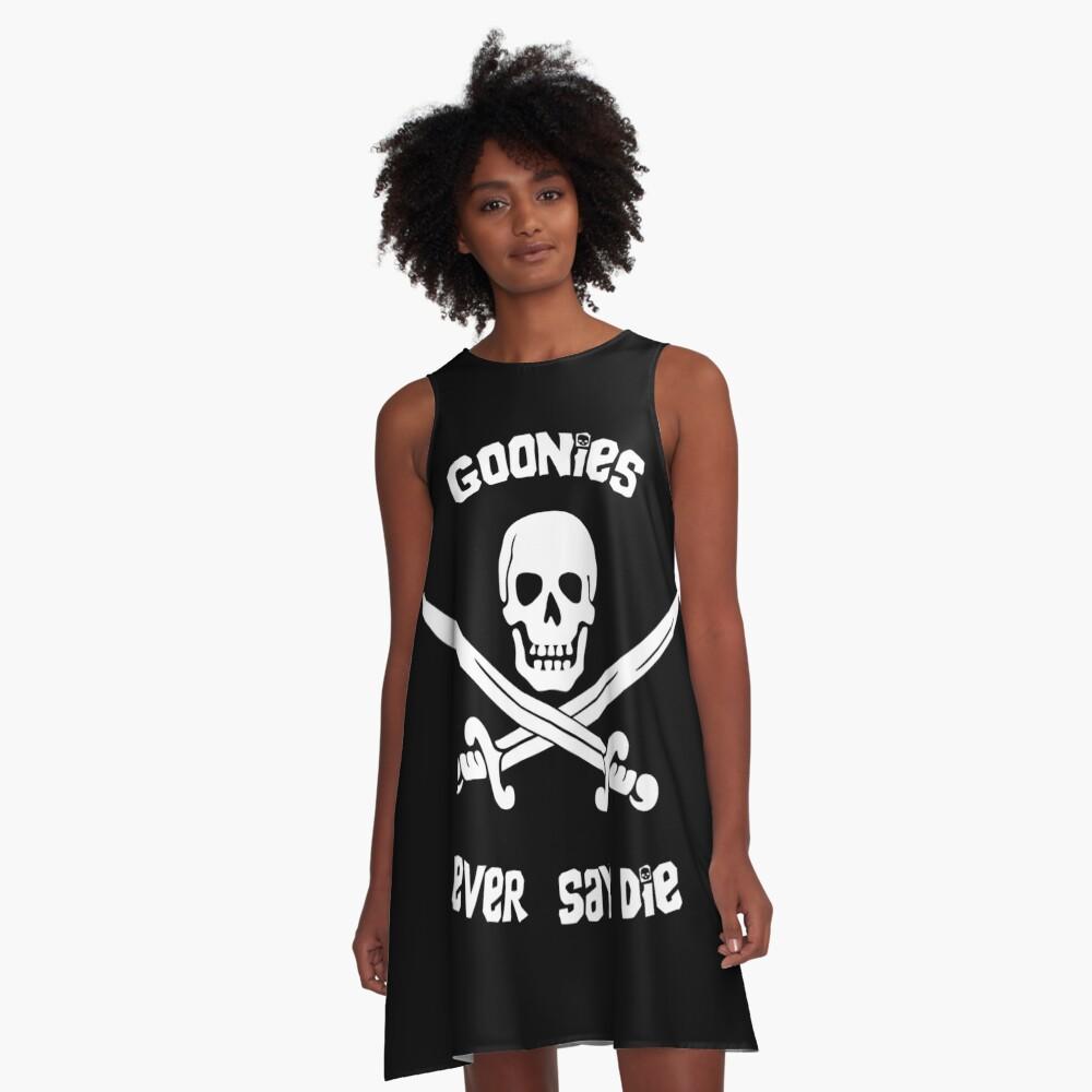 Goonies sagen nie sterben A-Linien Kleid