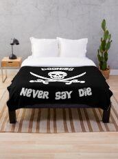 Goonies Never Say Die Throw Blanket
