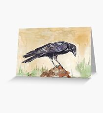 The Way of the Crow - Coco Greeting Card