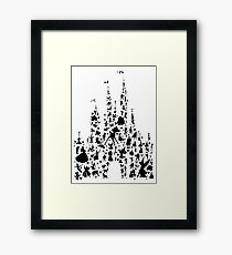 Happiest Castle On Earth Framed Print