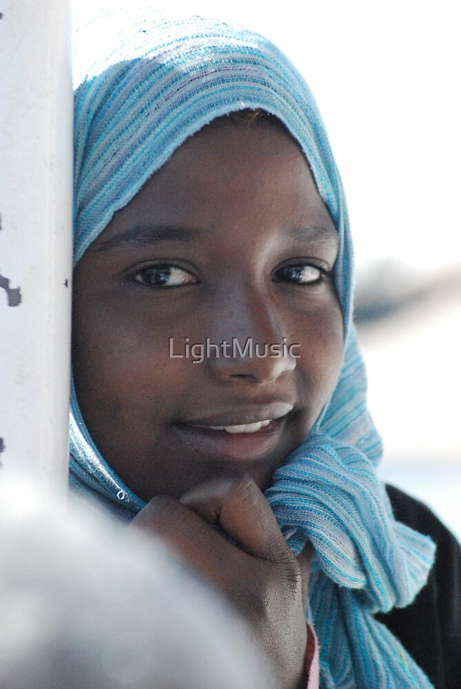 Nubian Girl by LightMusic