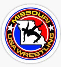 Team USA Missouri Wrestling Sticker