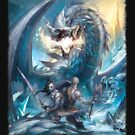 Ice Dragon vs. Vikings by SchwalbEnt