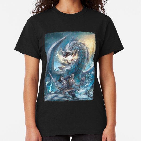 Ice Dragon vs. Vikings Classic T-Shirt