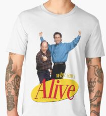 seinfeld im seriously depressed send xanax  Men's Premium T-Shirt