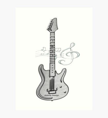 Guitar ( 252 Views) Art Print