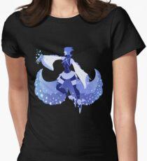 Blue Aqua Womens Fitted T-Shirt