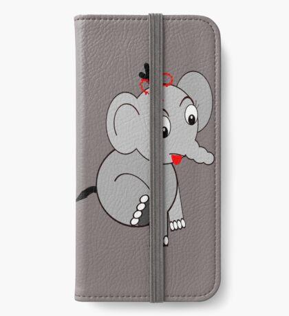 Elephant (3913 Views) iPhone Wallet