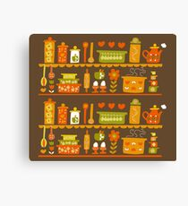 Lets Cook at Home Canvas Print