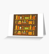 Lets Cook at Home Greeting Card