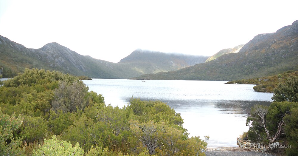 Cradle Lake, Tasmania,Australia by Philip Johnson
