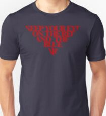 Melbourne Demons - The Red & the Blue Unisex T-Shirt