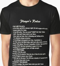 D&D - Player's Rules Graphic T-Shirt